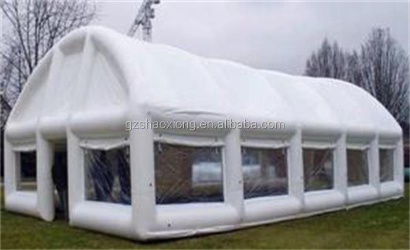 Blowing up wedding tent,big tunnel inflatable tent for outdoor wedding party