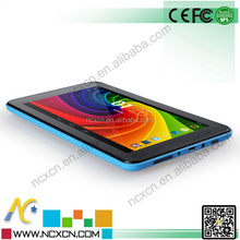 7 inch memory 1G/8G 7 inch android kids tablet pc