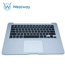 Computer <strong>parts</strong> Top case For Macbook Pro 13&quot; A1425 Topcase Palmrest with US keyboard