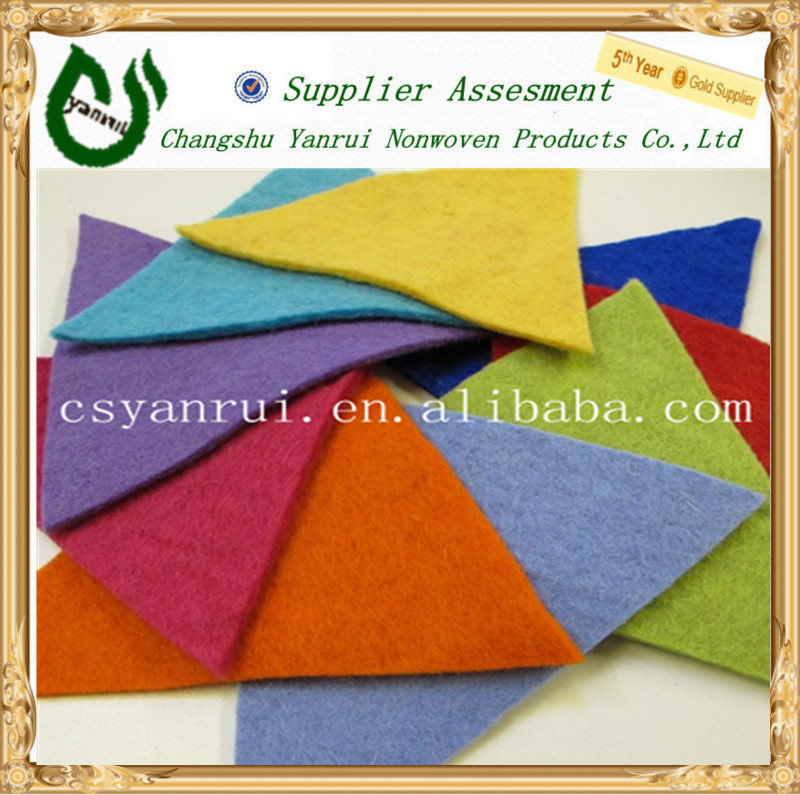 Craft polyester needle punched nonwoven felt fabric manufacturer