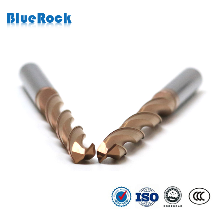 Tungsten Carbide Drill Bits For Metal Grinding / Hole Making Tools