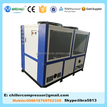 Professional 0 deg Air Cooled Water Chiller, 40HP Pasteurized Milk Chiller