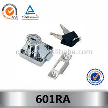 zinc-alloy black key lock for bedroom 601RA