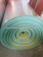 industrial insulation tools Laminated PE-film Alu foam insulation material with low price
