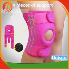 1 piece packed with logo customized neoprene sports protective thermal knee support brace