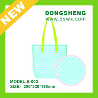 newest fashionable silicone lady hand bag for personal dressing up / top quality silicone womens bag for travel