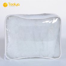 High Quality Transparent pvc blanket bag / plastic quilt bag / bedding packaging bag