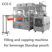 Filling And Capping Machine For Beverage