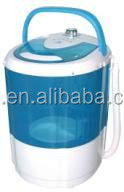 Anti-rust plastic body cheap mini washing machine