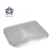 Half size Aluminum foil container with lid