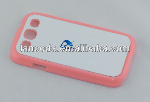 Sublimation Rubber Cover for Samsung Galaxy S3 i9300 Case