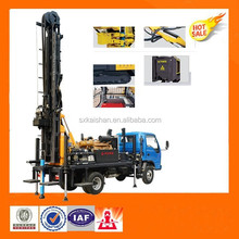 KW20 truck mounted water well drilling rig,bore well drilling truck