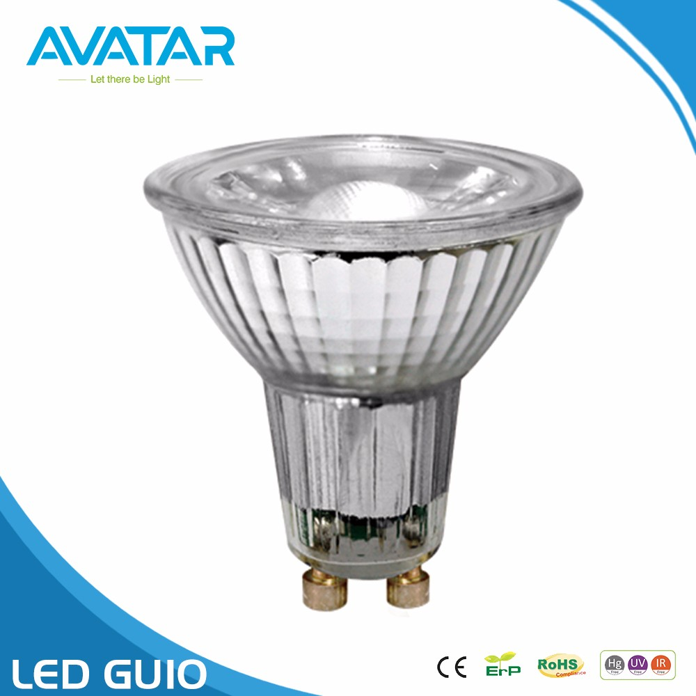 Energy saving light diffuser backlight spotlight ce rohs cob smd dimmable led gu10 bulb lamp 7w 5w 3w 550lumen 400lumen 350lumen