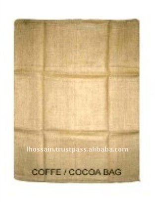 Jute Eco Friendly Biodegradable 50 kg Brown Coffee Bag