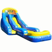 commercial grade Blue Wave inflatable water slide/ waterslide for sale