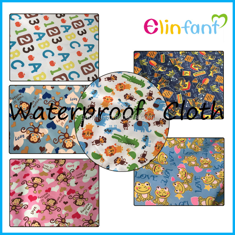 High Quality PUL/Minky cloth fabric for cloth baby diaper