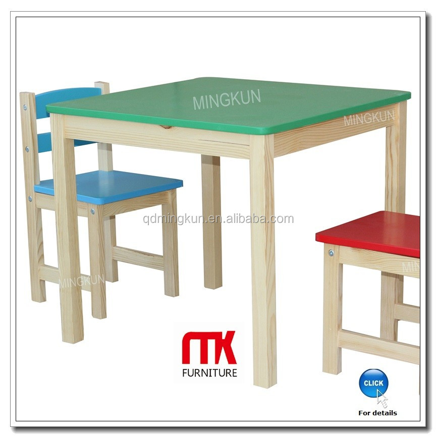 modern design cheap wooden kids nursery table and chairs. Black Bedroom Furniture Sets. Home Design Ideas