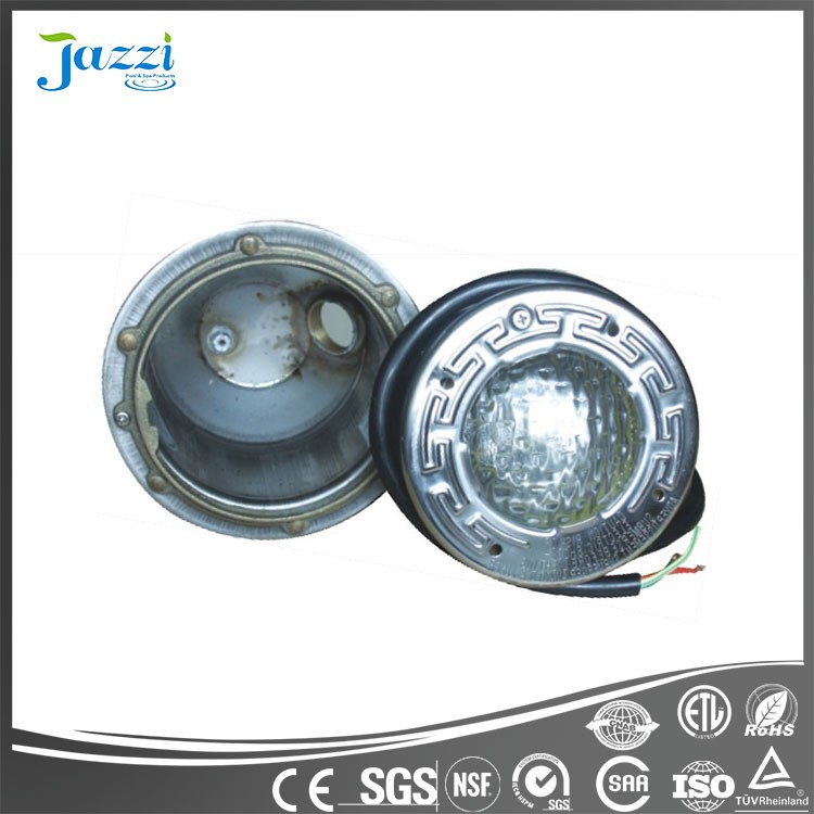 Jazzi Halogen/led RGB underwater swimming pool light,factory price swimming pool lights