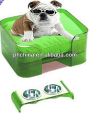 modern clear acrylic pets bed, acrylic furniture