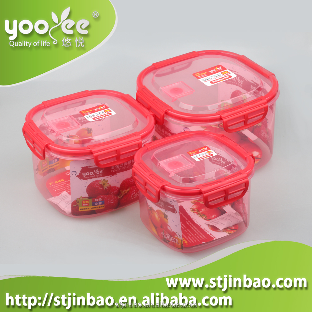 Eco Friendly Clear Large School Lunch Box Wholesale
