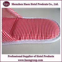 hotel disposable closed toe guest skidproof slipper