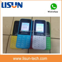 1.77 inch Color screen dual sim bar design small cell phone with whatsapp/facebook/fm
