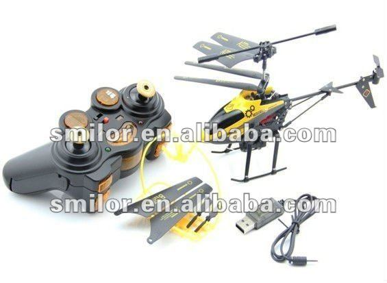 3.5CH Basket-lifting IR RC Helicopter with Hook and Gyro and Light
