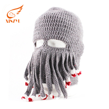 Super quality beautiful knitted balaclava hat crochet knitted animal hats