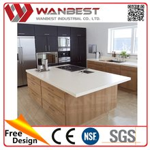 Quartz Stone Panels For Kitchen Installation Of The Marble Kitchen Countertop counter top Heat Resisting