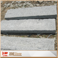 Customized Size Natural Surface G341 Granite Road Curbstone