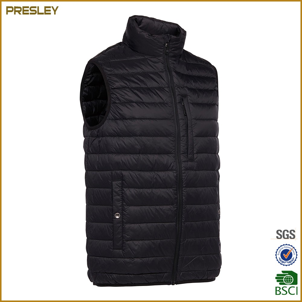 Winter Super Warm Puffer Vest Down Jacket Men