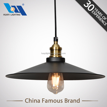 zhongshan lighting Vintage Industrial E27 filament round pendant lamp
