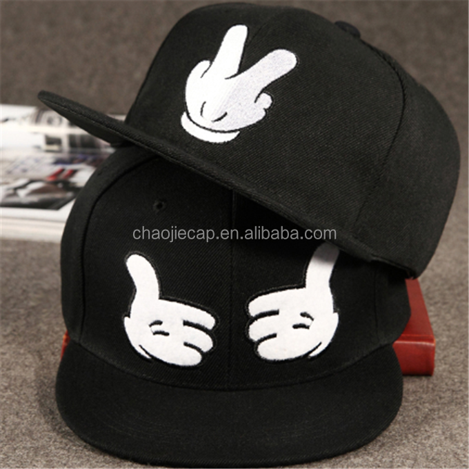 popular outdoor hip hop cap 5 panel cap