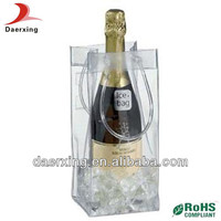 Ali express beer ice bag,very strong PVC bag,guangzhou plastic bags