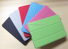 Napov-China Wholesale New Pattern Leather Flip Cover Custom Design Smart Case for ipad mini