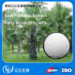 For make capsules 25% 45% Fatty acid Saw Palmetto Extract
