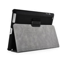Durable Flip Magnetic Stand Pu Leather Protective Case Cover for iPad 2/3/4