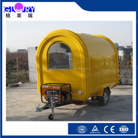 Food Cart Vending Mobile Food Truck With Wheels CE&ISO9001Approval Mobile Food Cart