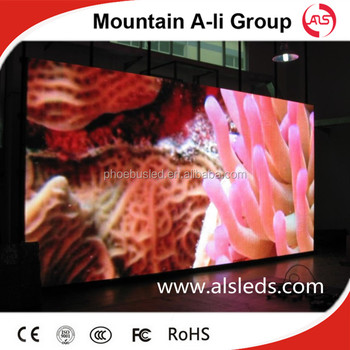 P10 Indoor LED display for stage show, video advertising