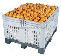 Foldable Plastic Basket/Fruit Packaging Box/Crates for Mangoes