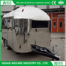 Outdoor Mobile fast food trailer mobile ice cream trailer for sale