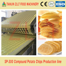 Automatic stackable Pringles potato chip production line from China