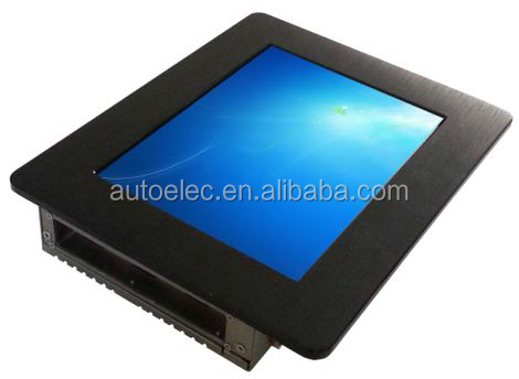 P080S any size industrial touch screen mini embedded and Rack or Desktop windows or linux fanless embedded box pc