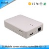 Support firewall USIM Slot 150mbps wcdma wifi 3g router with power bank
