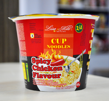 Spicy ramen noodles Dry chinese noodles Ramen
