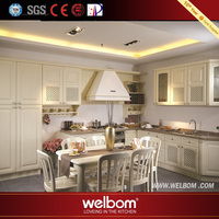 2017 Welbom Designs of Kitchen Hanging Cabinets Natural Wood Kitchen Cabinet