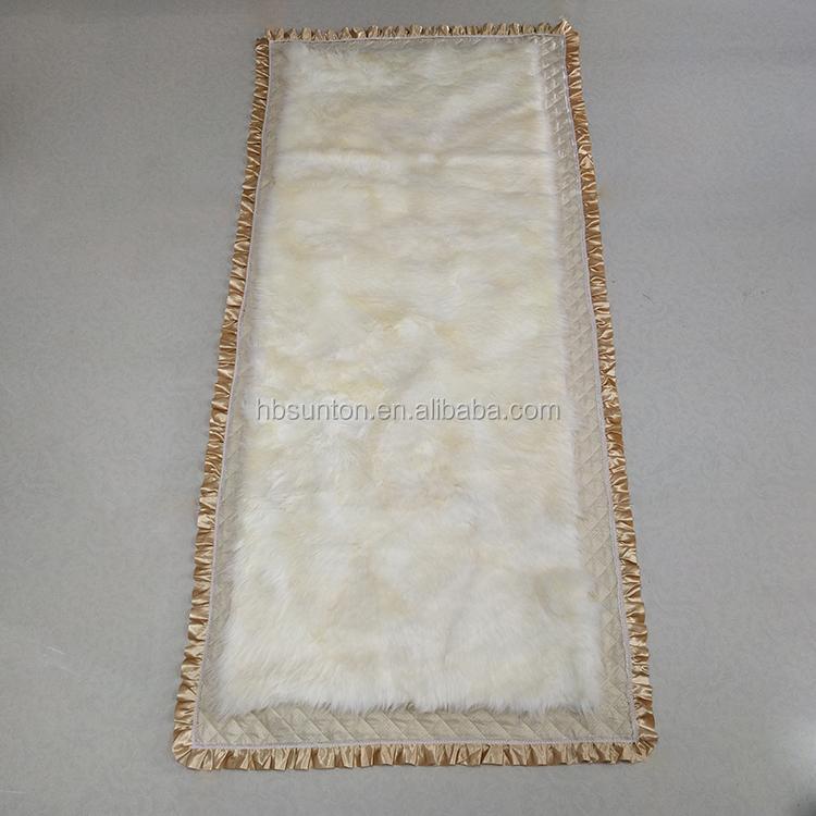 genuine fur plate blanket real sheepskin bedding mattress - Jozy Mattress | Jozy.net