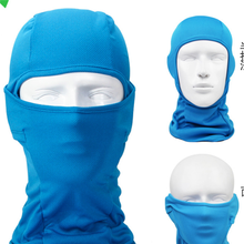 Custom colorful print face mask caps adjustment mesh balaclava hats for sale