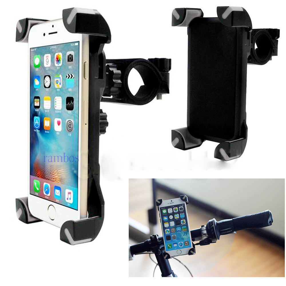 universal bicycle handlebar mount mobile cell phone gps stand holder for bike