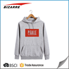 2016 Best sell high quality autumn thick plain mens sports hoodies